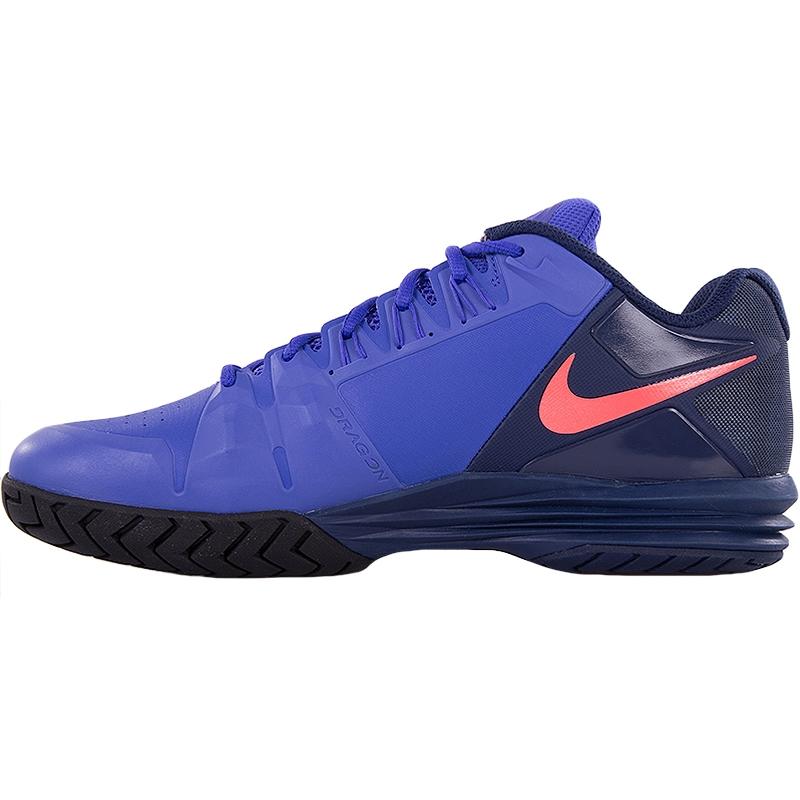nike lunar ballistec 1 5 s tennis shoe violet navy hotlava