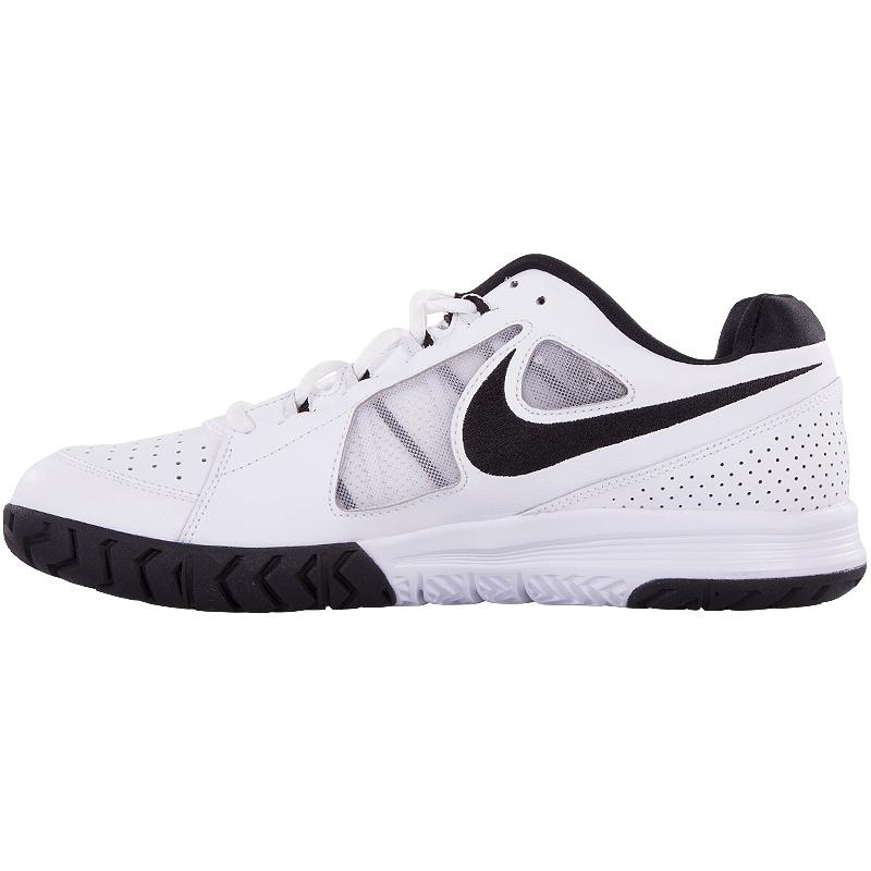 nike vapor ace s tennis shoe white black