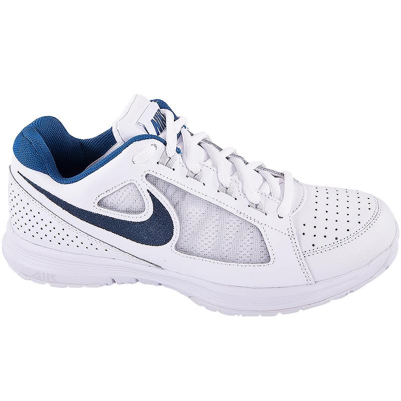 nike vapor ace s tennis shoe white blue silver