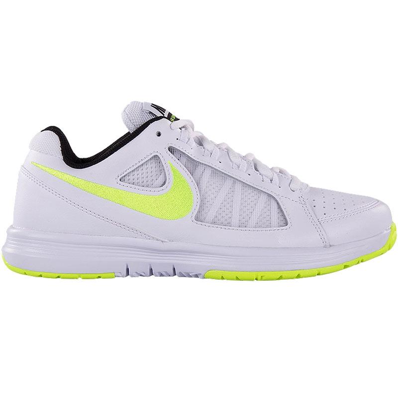 nike air vapor ace s tennis shoe white volt
