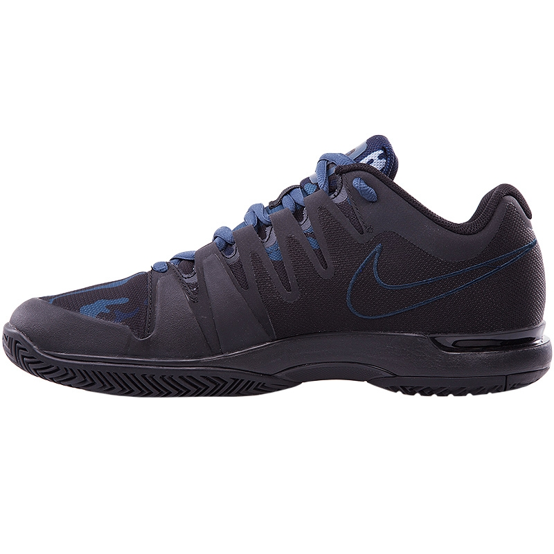 nike zoom vapor 9 5 tour junior tennis shoe black blue