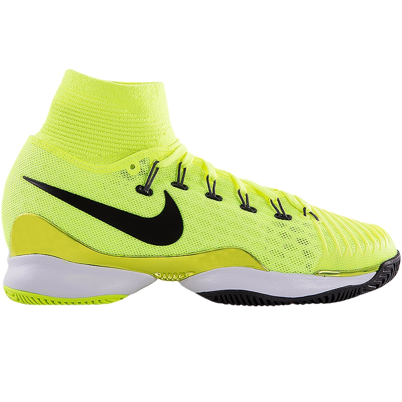 nike air zoom ultrafly junior tennis shoe volt black