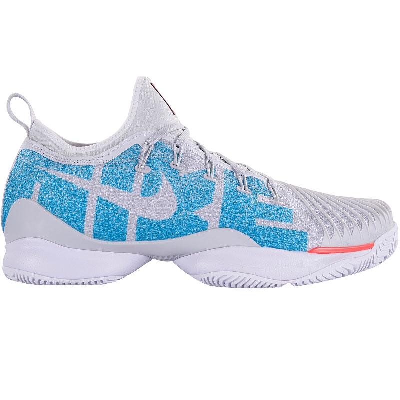 a0d58126732ab Nike Air Zoom Ultra React Women s Tennis Shoe Platinum blue