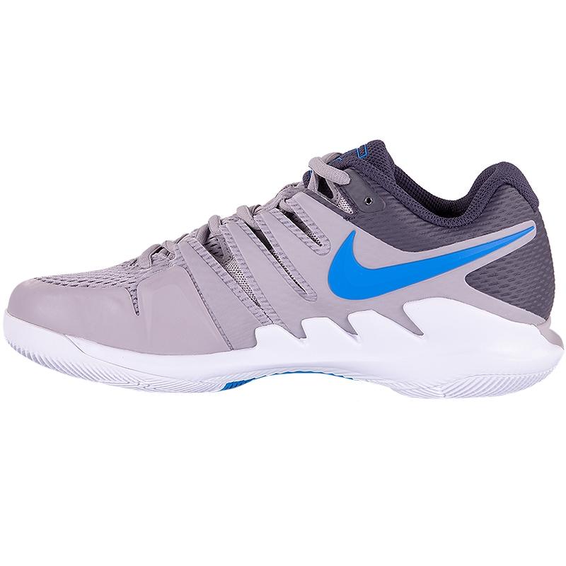 9d904505cf1e Nike Air Zoom Vapor X Men s Tennis Shoe Grey blue