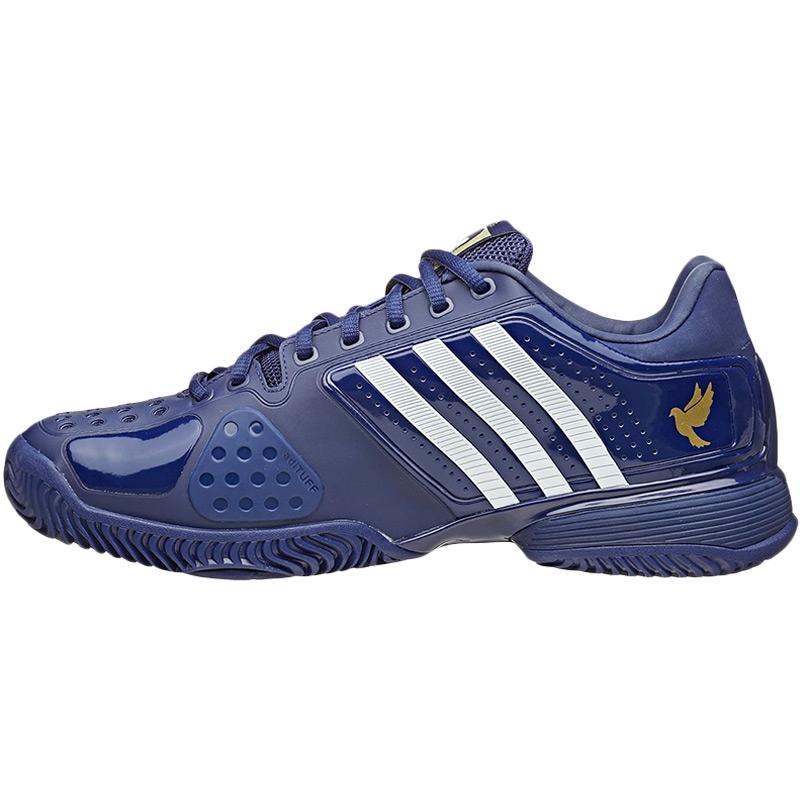 adidas novak pro s tennis shoe blue white