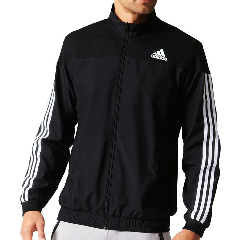 Adidas Club Men's Tennis Jacket Black/white