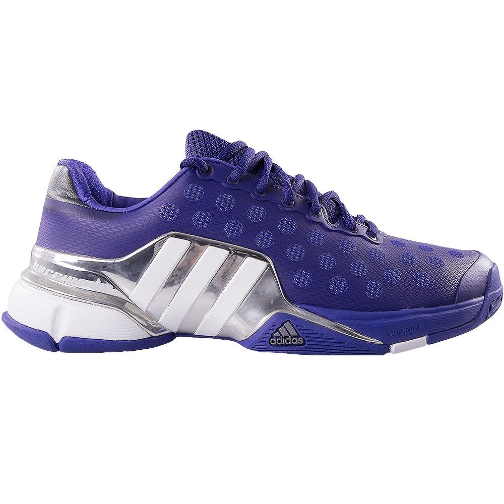 Adidas Shoes Womens Logo Purple Gray