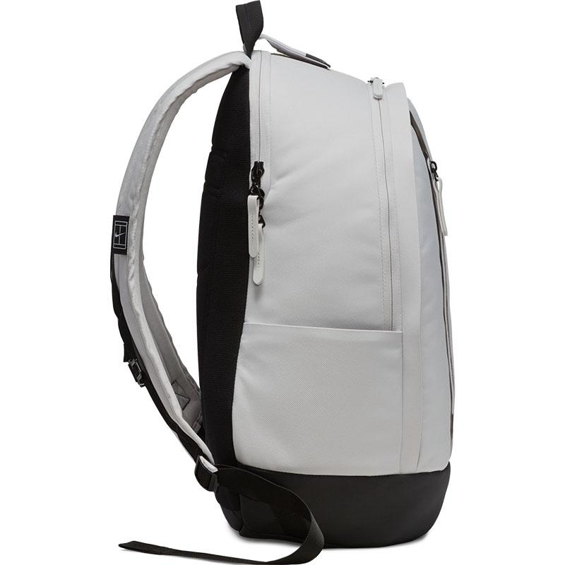 Nike Court Advantage Tennis Backpack Grey black bfdd50d1ec607