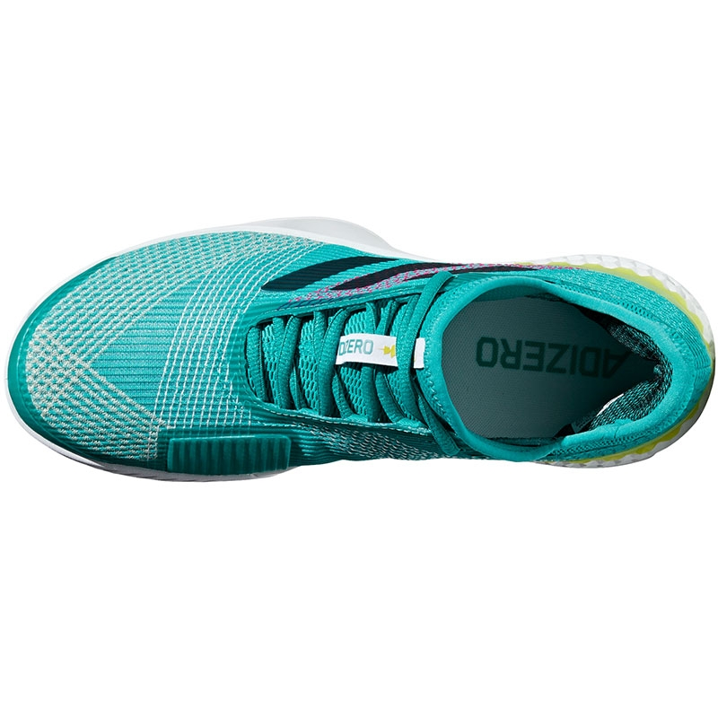 ab8342380 Adidas Adizero Ubersonic 3 Men s Tennis Shoe Aqua black