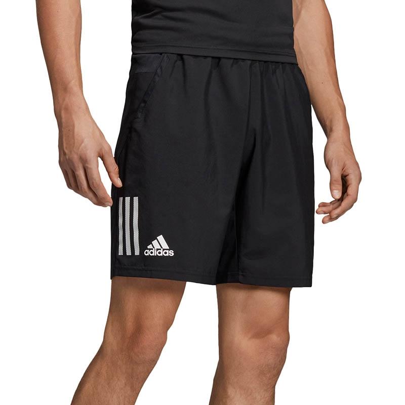05261ca2628 Adidas Club 3 Stripes Men's Tennis Short Black/white