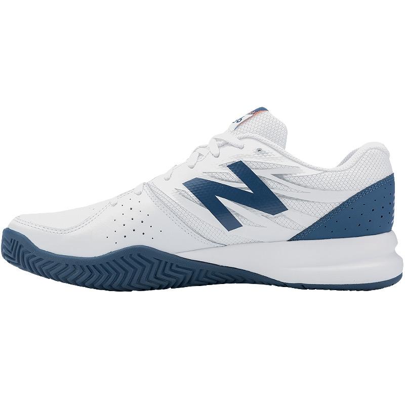 new balance mc 786 2e wide s tennis shoe white blue