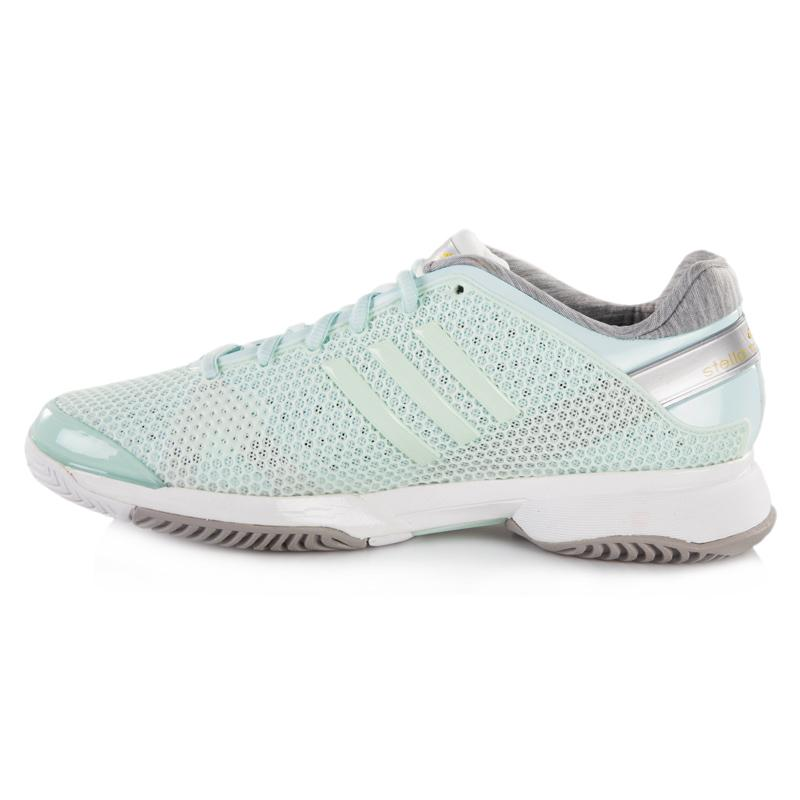 adidas barricade stella mccartney s tennis shoe aqua