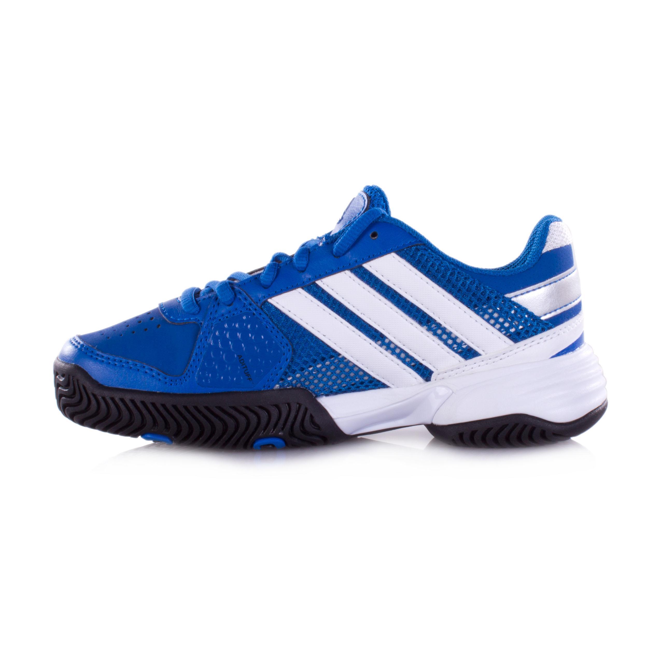 Home Shoes Adidas Barricade Team Junior Tennis Shoe Item