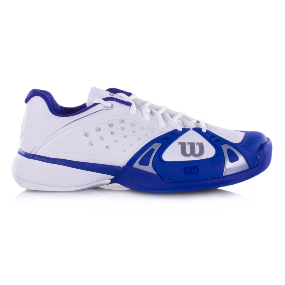 wilson pro s tennis shoes white cobalt ink