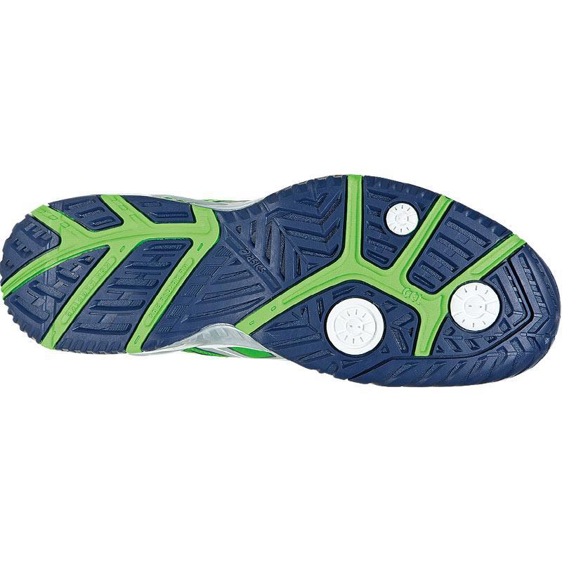 asics gel resolution 5 s tennis shoes green silver blue