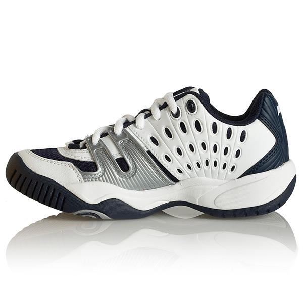 prince t22 s tennis shoes white navy
