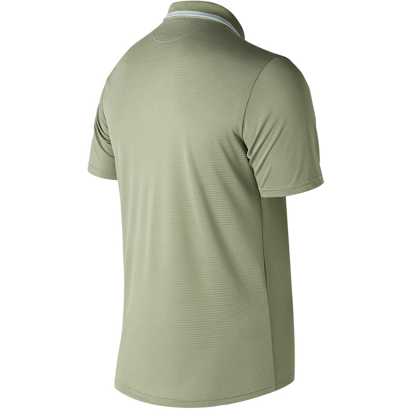 fb18c284 New Balance Rally Classic Men's Tennis Polo Silvermint/white
