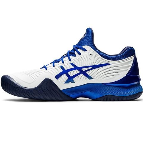 Santuario Consejos solo  Asics Court FF 2 Novak Men's Tennis Shoe White/blue