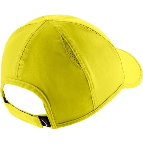 Nike Featherlight Women s Tennis Hat Yellow black 1d069a322ed