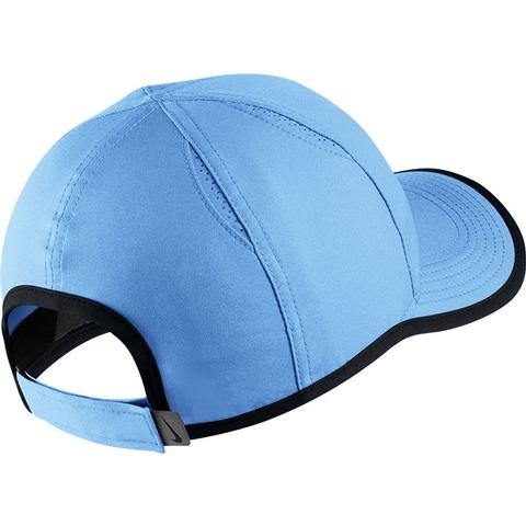 755930e692c8e Nike Featherlight Youth Tennis Hat Blue black