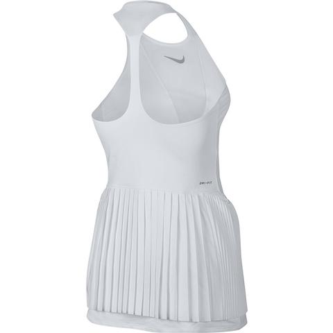 2c943c728336 Nike Court Power Maria Women's Tennis Dress White/grey