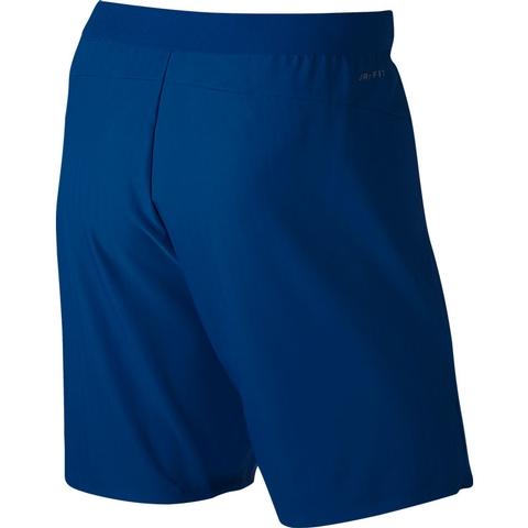 67cd2b7f0cc3 Nike Flex Ace 9 Men s Tennis Short Bluejay white