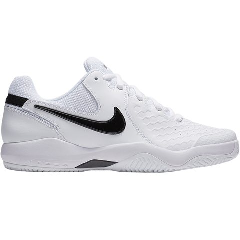 Nike Air Zoom Resistance Men s Tennis Shoe White black 6309811ae03