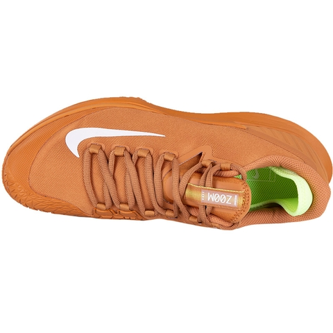 Nike Air Zoom Zero Mens Tennis Shoe Copper white 855bf760ad6