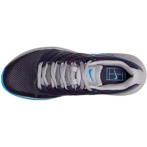 Nike Air Zoom Prestige Men s Tennis Shoe Blue grey a1e551232cf