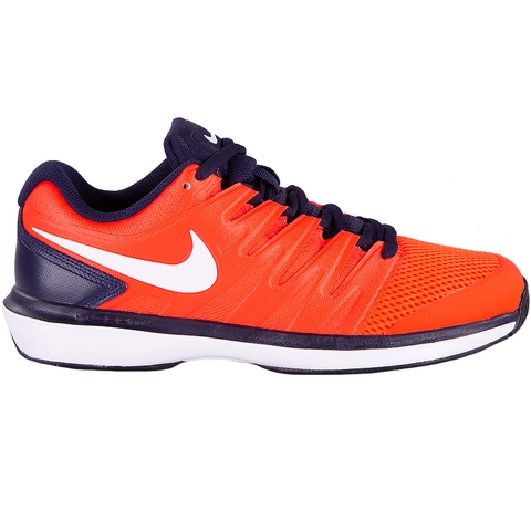 Nike Air Zoom Prestige Men s Tennis Shoe Crimson white 7e923557230