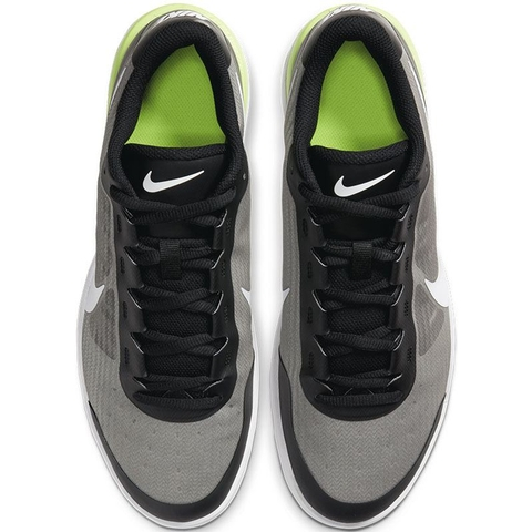 Nike Air Max Vapor Wing Men's Tennis Shoe Black/volt