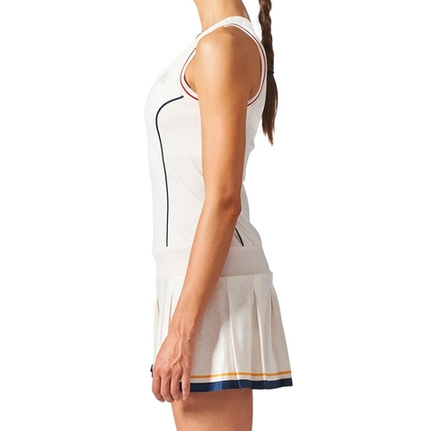 Williams Whiteblueyellow Solid Ny Women's Adidas Pharrell Tennis Dress UMVqSpz