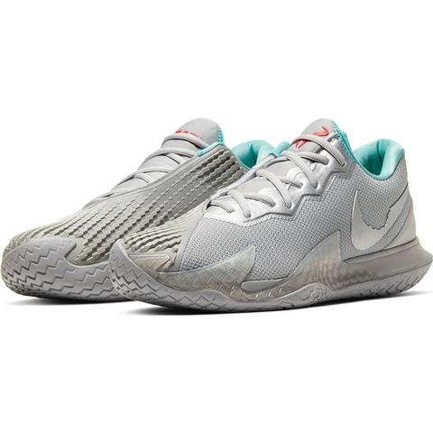 Nike Air Zoom Vapor Cage 4 Men's Tennis Shoe Silver