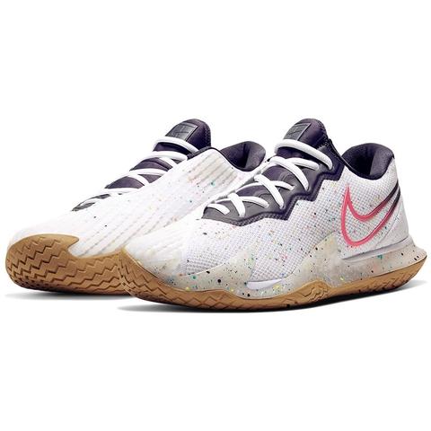 Nike Air Zoom Vapor Cage 4 Men's Tennis Shoe White/crimson