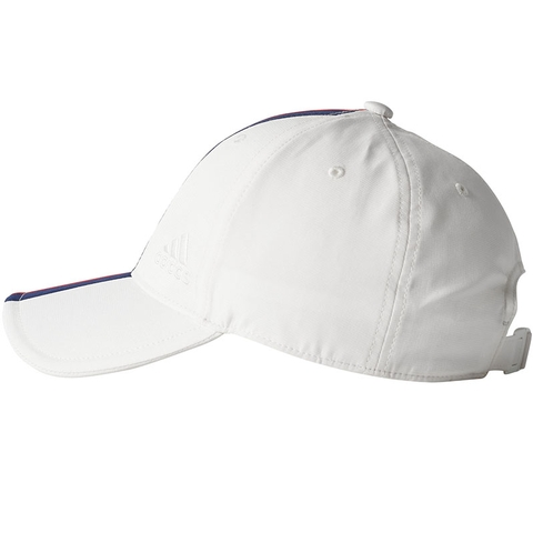d80302a9 Adidas Pharrell Williams NY Mens Tennis Hat White/blue