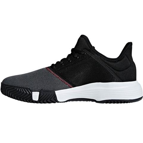 87ae5c19718 Adidas GameCourt Men s Tennis Shoe Black white