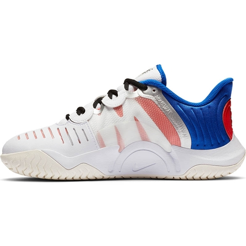 Nike Air Zoom GP Turbo Women's Tennis Shoe White/blue