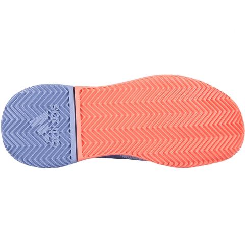 adidas adizero defiant rimbalzare le scarpe da tennis blu / coral