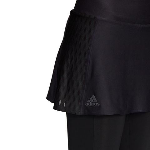 Acostado acceso mimar  Adidas Barricade Womens Tennis Skirt/Leggings Black
