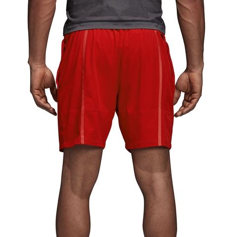Adidas Barricade Men's Tennis Short Scarlet