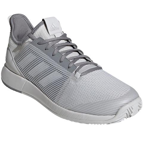 tos lotería Intento  Adidas Adizero Defiant Bounce Men's Tennis Shoe Grey
