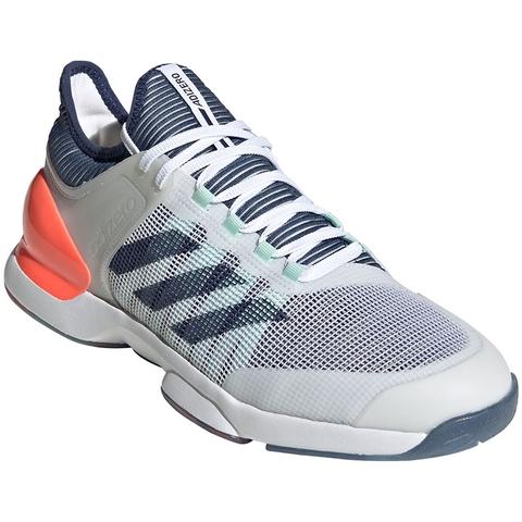 Leyes y regulaciones Distante asignación  Adidas Adizero Ubersonic 2 Men's Tennis Shoe White/indigo