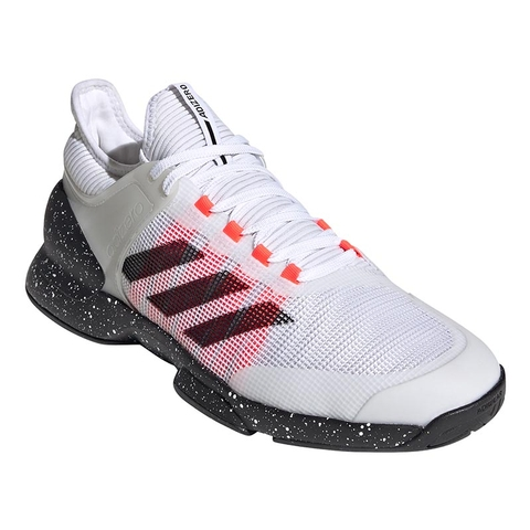 Eliminar Soportar Parpadeo  Adidas Adizero Ubersonic 2 Men's Tennis Shoe White/black