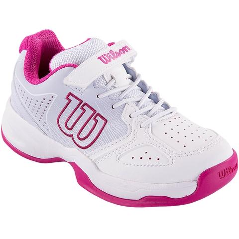 Wilson Stroke Junior Tennis Shoe White