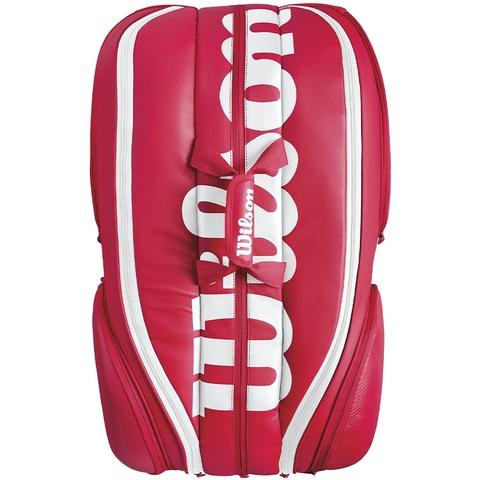 Wilson Pro Staff 15 Pack Tennis Bag Red