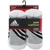 Adidas Striped 6 Pack Crew Junior's Tennis Socks