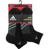 Adidas Striped 6 Pack Quarter Junior's Tennis Socks