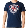 Adidas Wimbledon Graphic Men's Tennis Tee