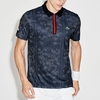 Lacoste Printed Ultradry W/ Zipper Men's Tennis Polo