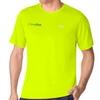 Fila Short Sleeve Men's Neon Yellow Tee